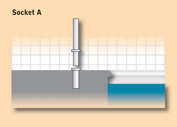 Dipper Pool Hoist Socket A