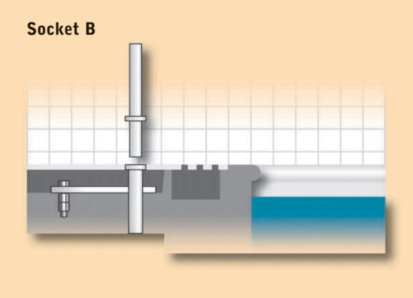 Dipper Pool Hoist Socket B