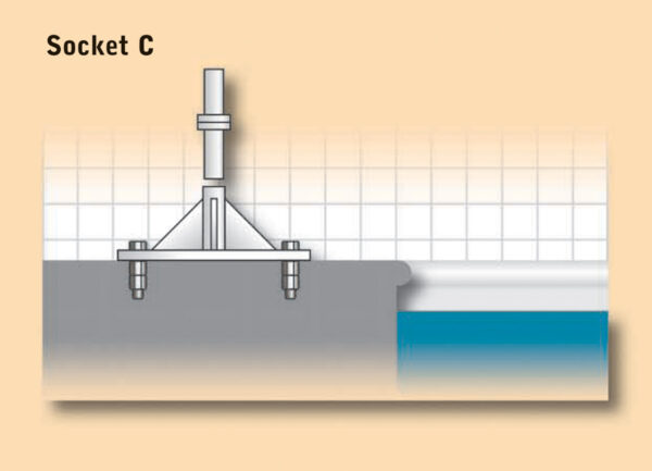 Dipper Pool Hoist Socket C